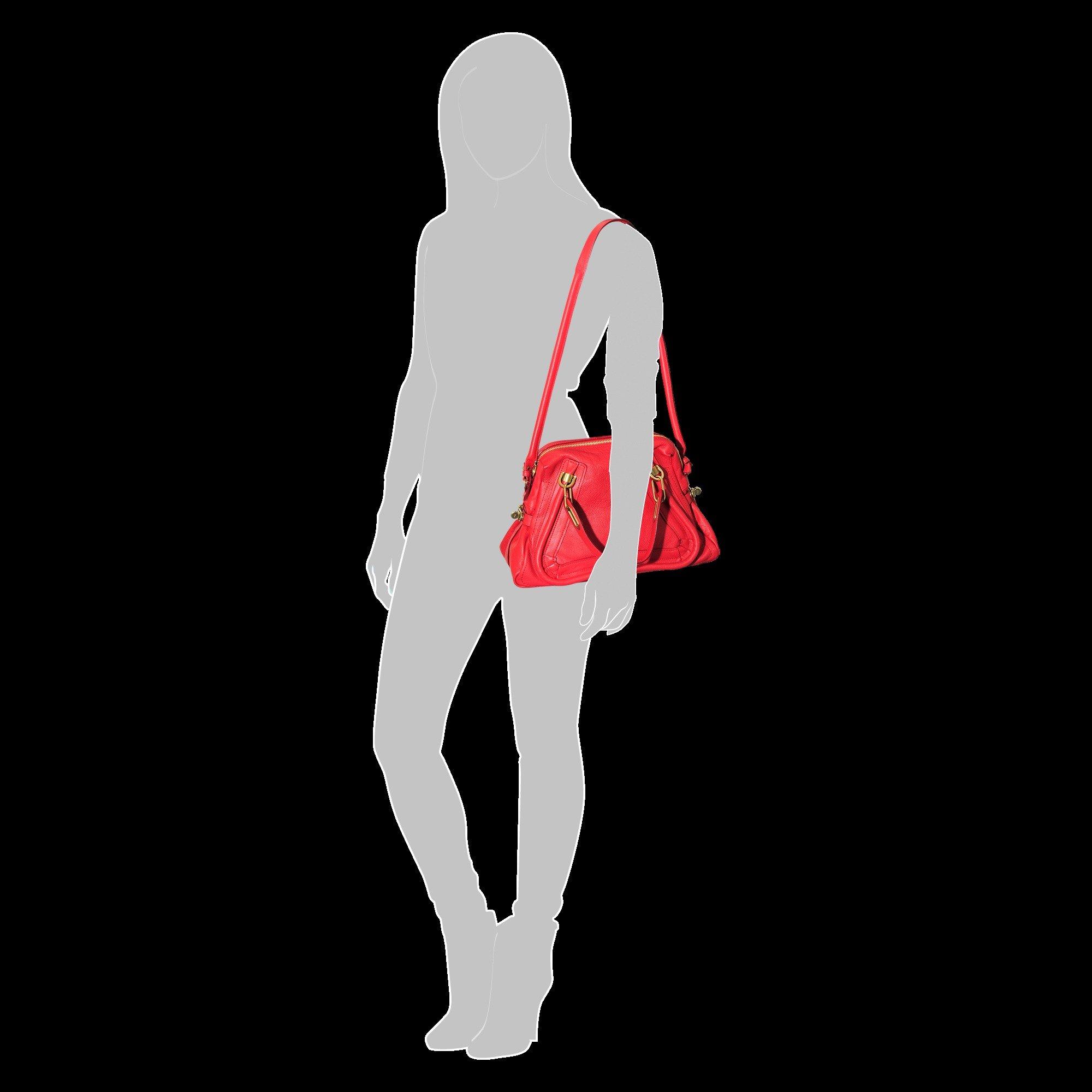 Chlo¨¦ Paraty Handbag in Red | Lyst