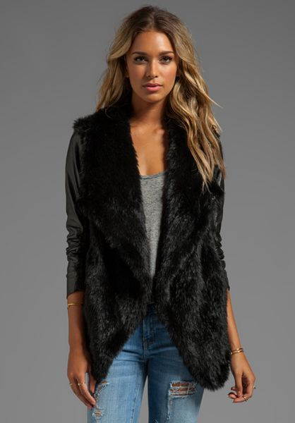 Shop for BLACK S Long Sleeve Faux Leather Jacket with Fur Collar online at $ and discover fashion at xajk8note.ml5/5(1).