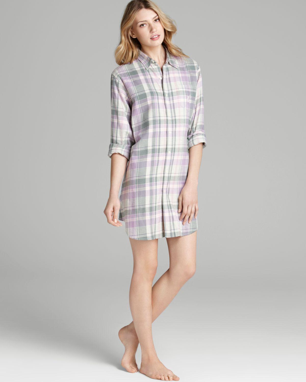 0414defbcc Short Sleeve Cotton Sleep Shirt - BCD Tofu House