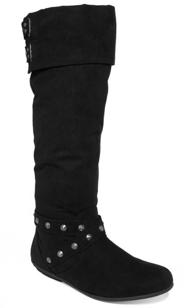 Rampage Batari Tall Shaft Boots in Black