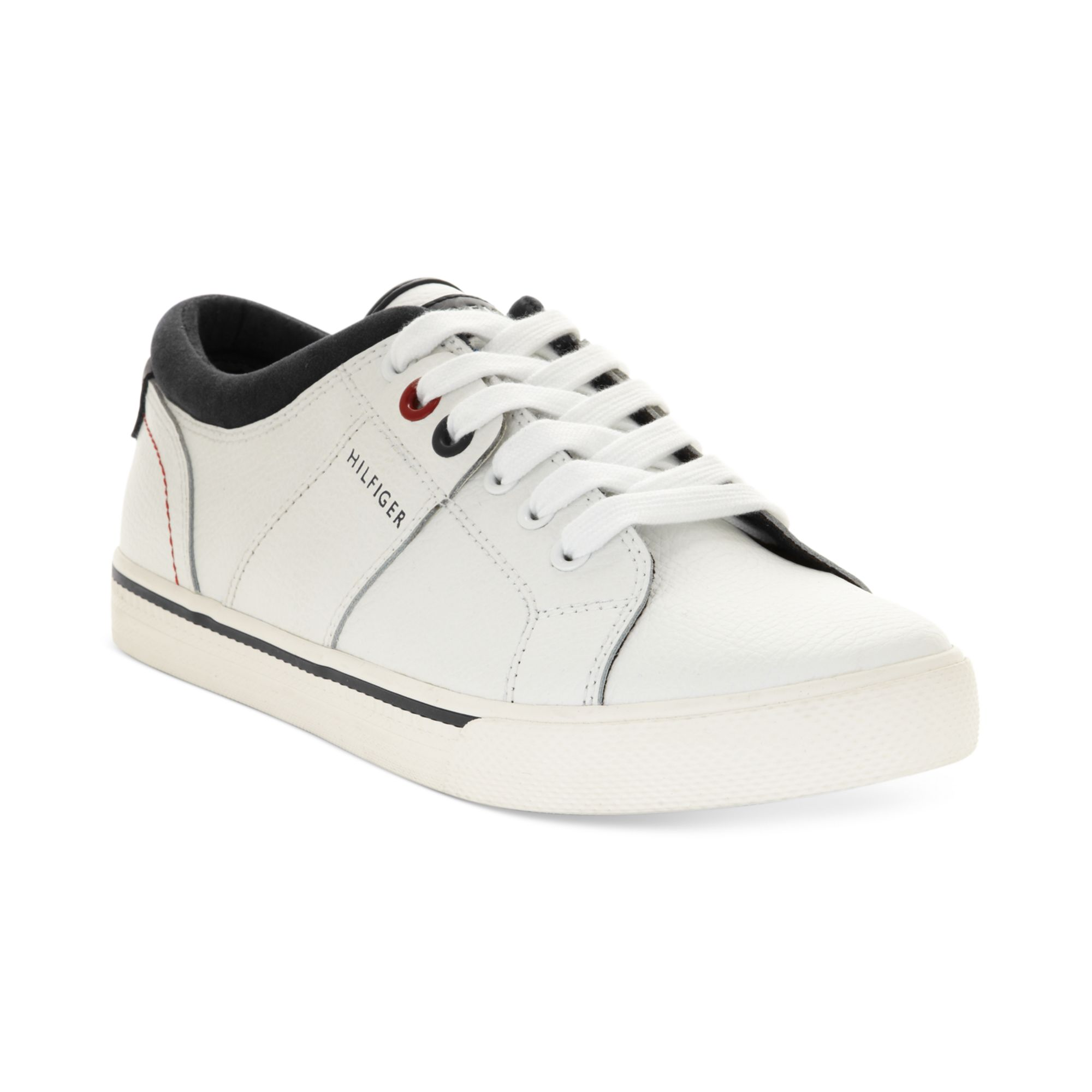 tommy hilfiger robbie sneakers in white for men lyst. Black Bedroom Furniture Sets. Home Design Ideas
