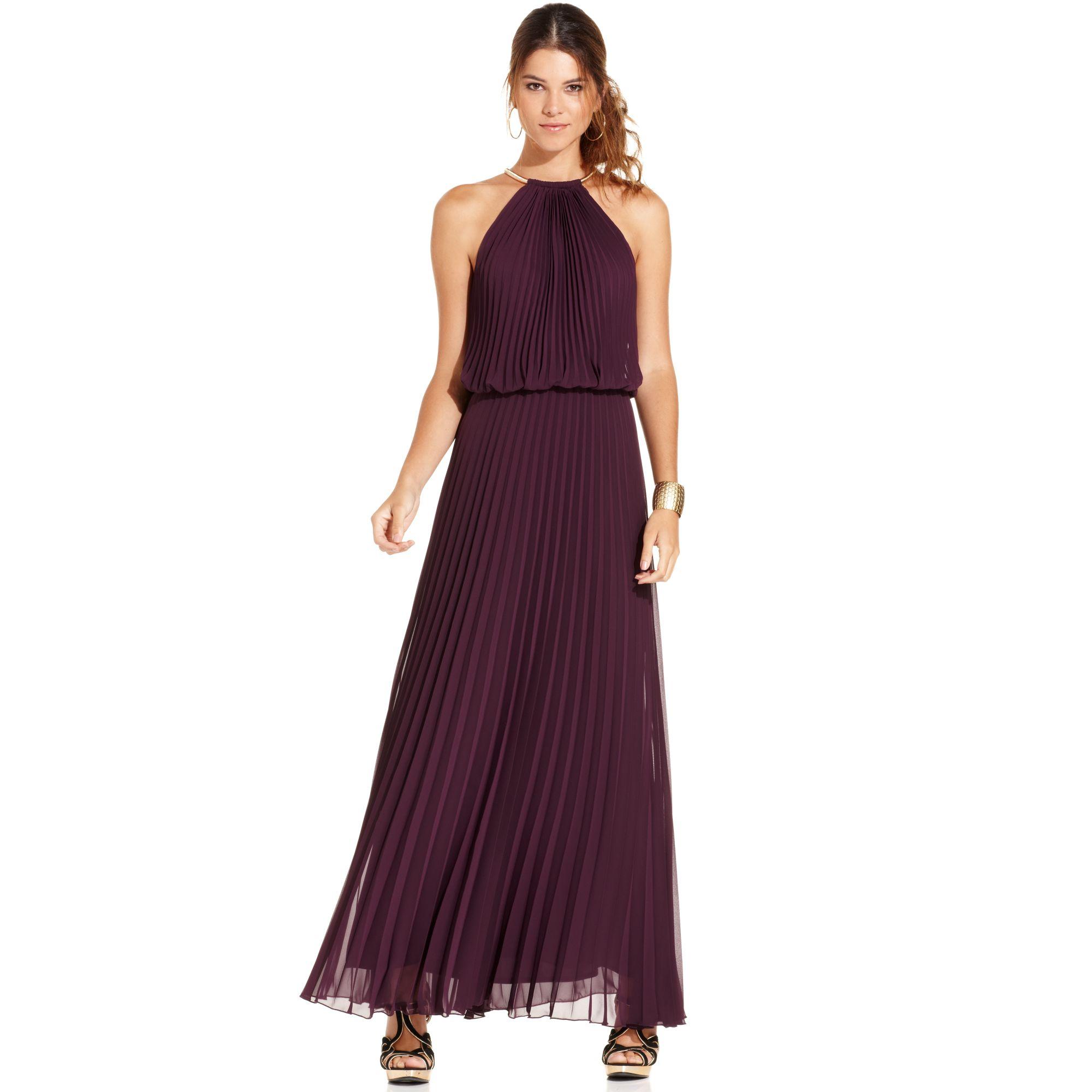Xscape Dresses - Xscape Dress Sleeveless Metallic Floral Print ...