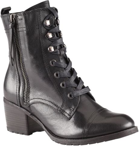 Aldo Holta Block Booties in Black