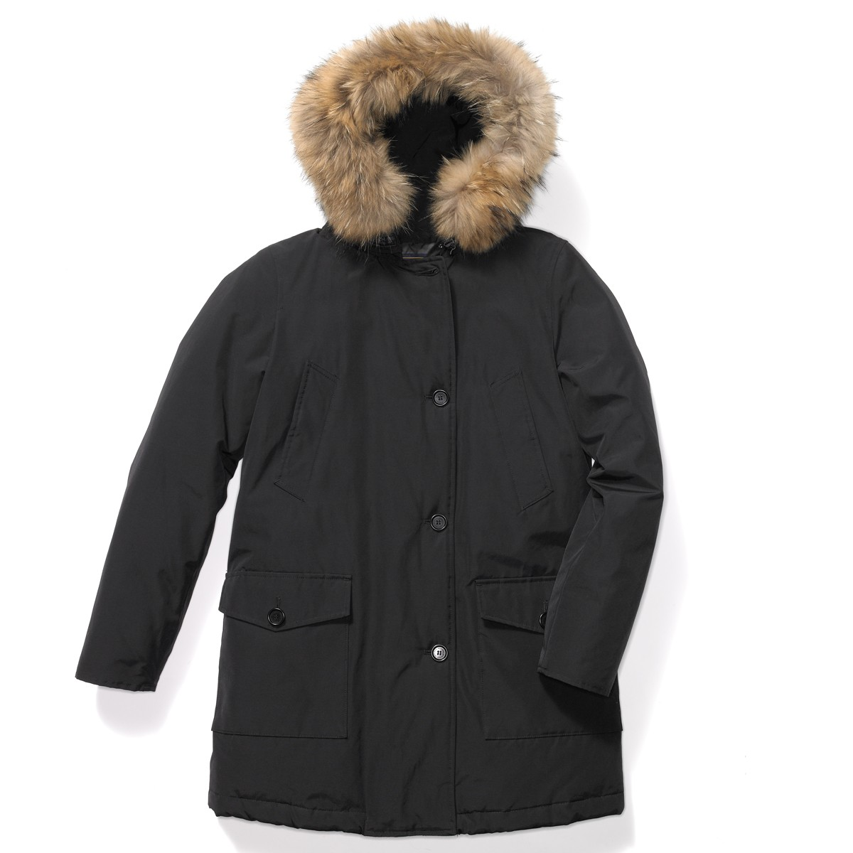 woolrich arctic parka in black lyst. Black Bedroom Furniture Sets. Home Design Ideas