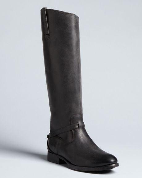 frye harness boots lindsay in black lyst