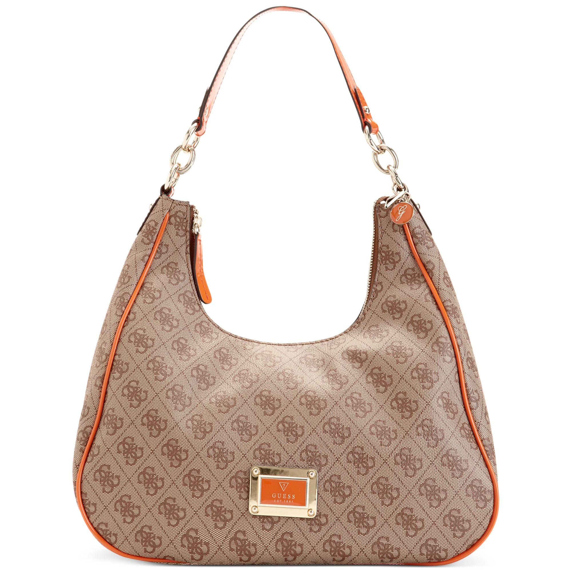 Guess Handbag Reama Top Handle Flap Shoulder Bag 34