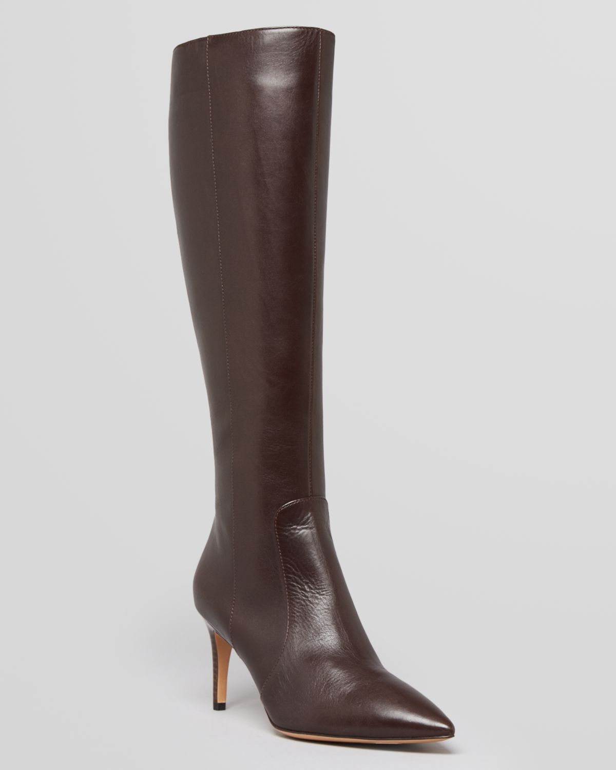 via spiga pointed toe dress boots dacia high heel in
