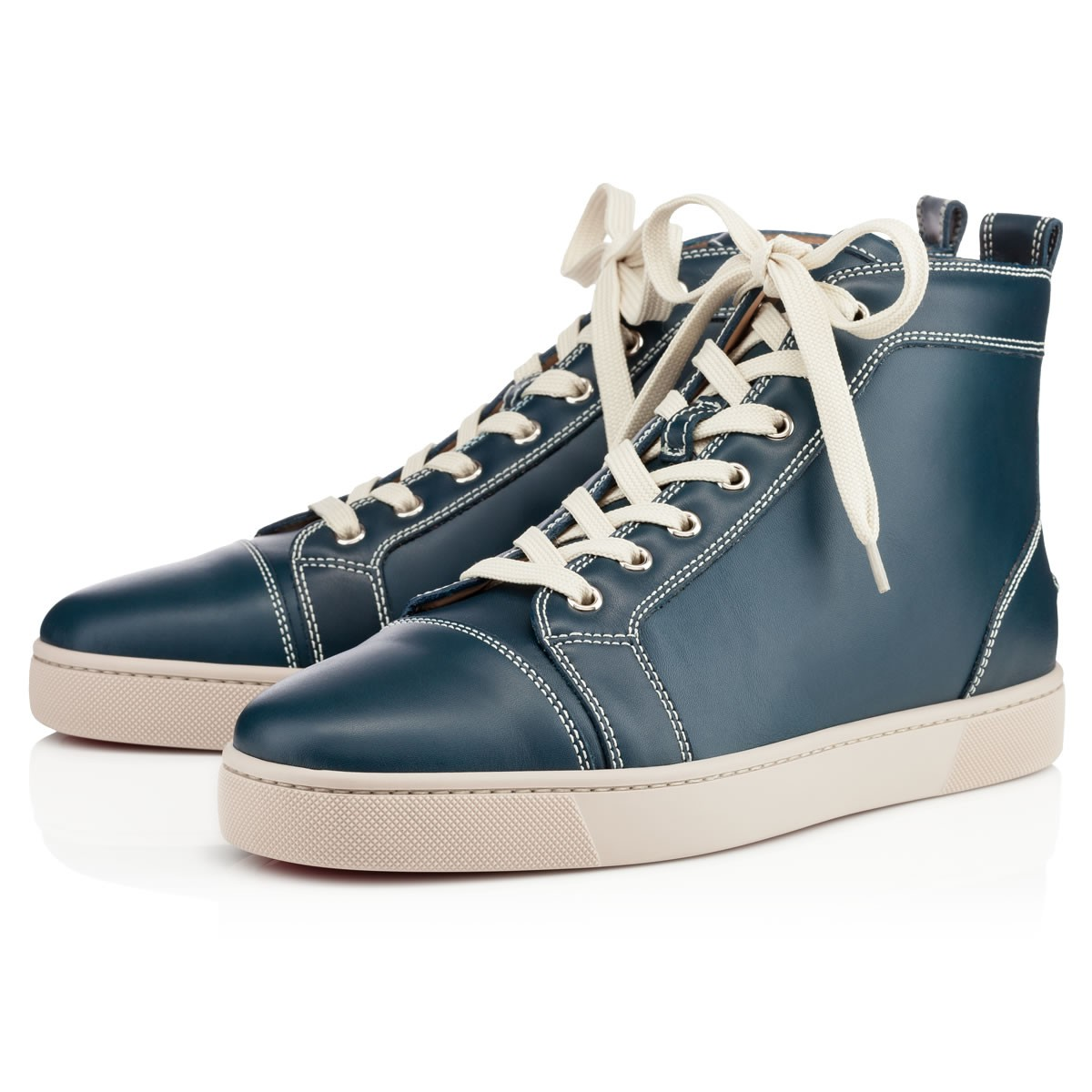 6847cad13e18 Lyst - Christian Louboutin Louis Mens Flat in Blue for Men