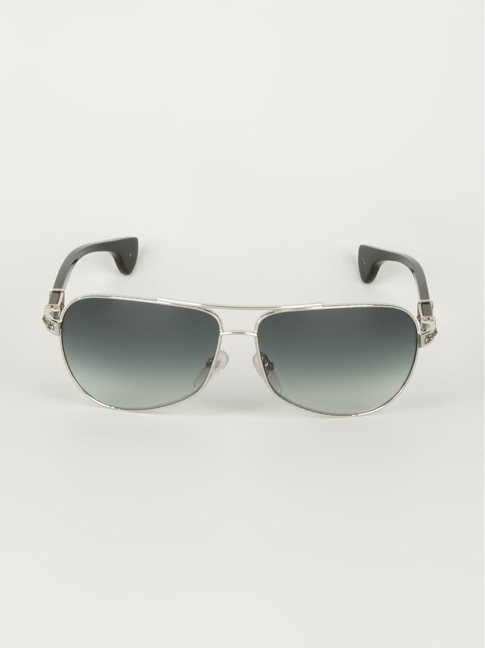 5d7d2a2be1e Lyst - Chrome Hearts Grand Beast Sunglasses in Black for Men