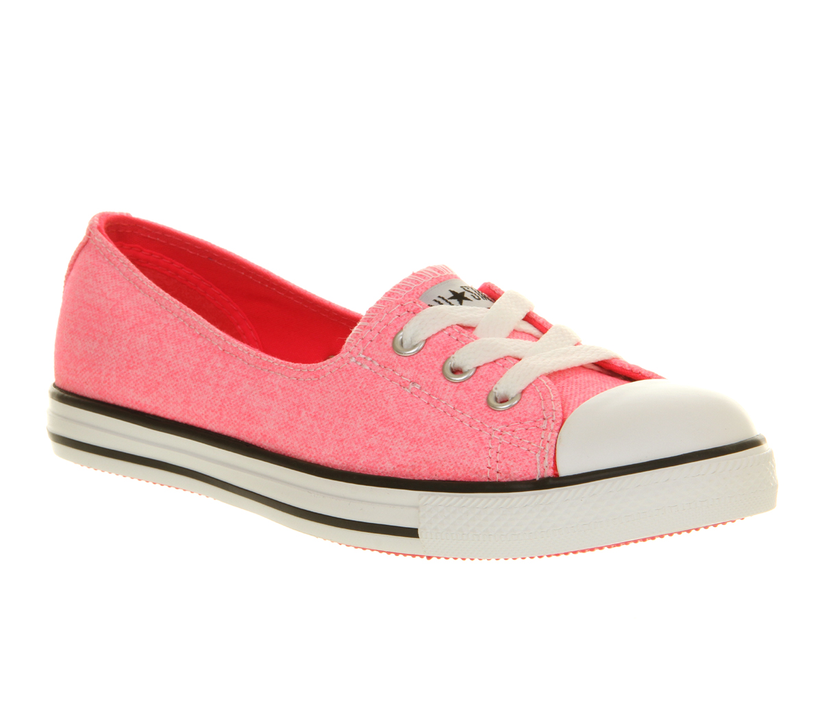 Converse Dance Lace in Pink - Lyst 6a3718708