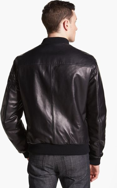 Ferragamo Nappa Leather To Quilted Nylon Reversible Bomber