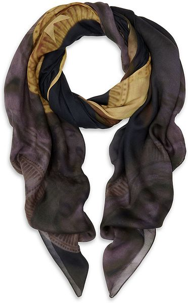 Givenchy Madonna and Child Scarf in Multicolor for Men