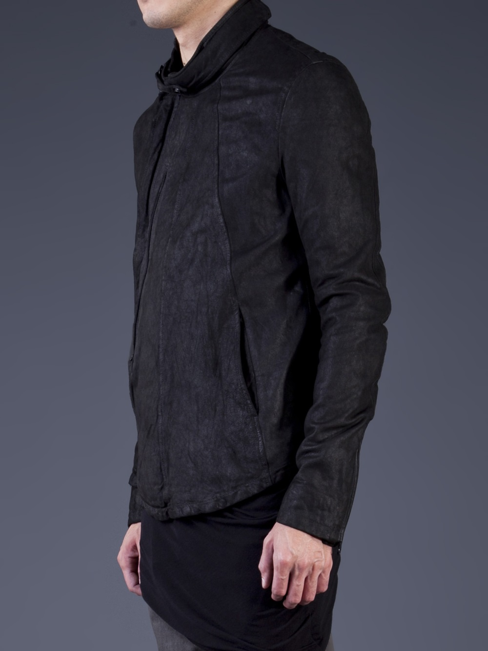 Lyst Julius Fencing Jacket In Black For Men