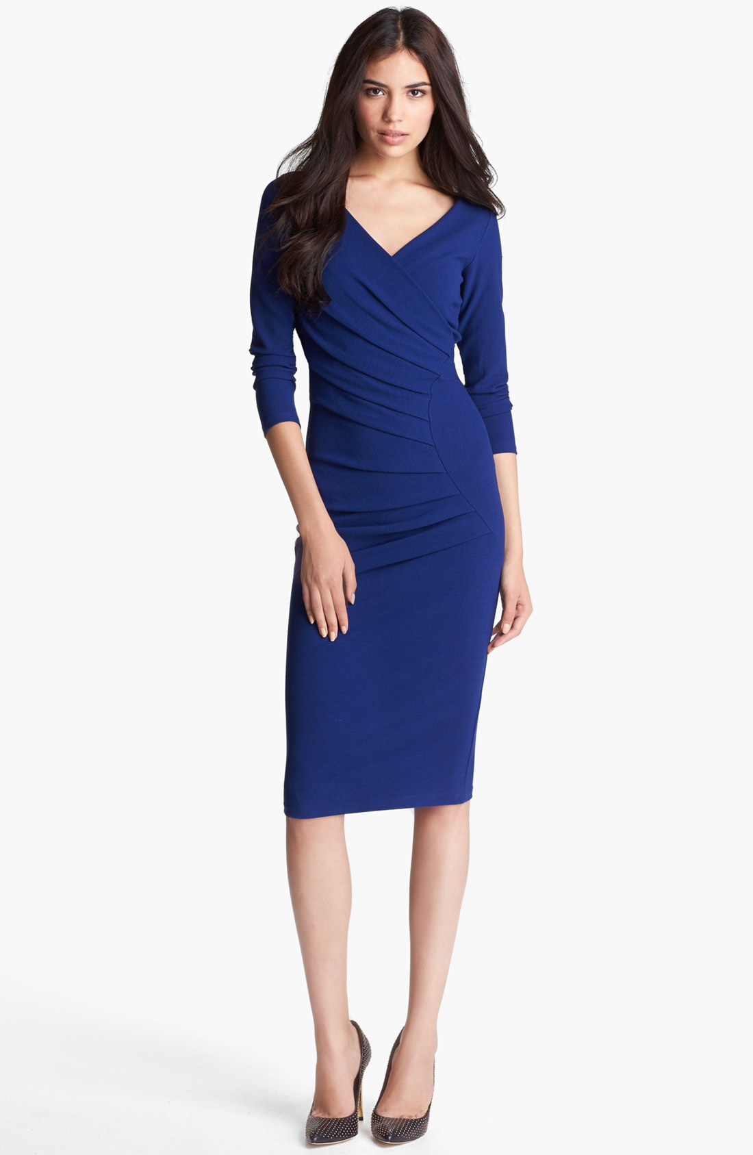 Chiara Boni The Most Popular Dress In America: La Petite Robe Di Chiara Boni Side Pleat Sheath Dress In