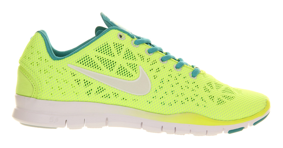 nike free tr fit 2 yellow