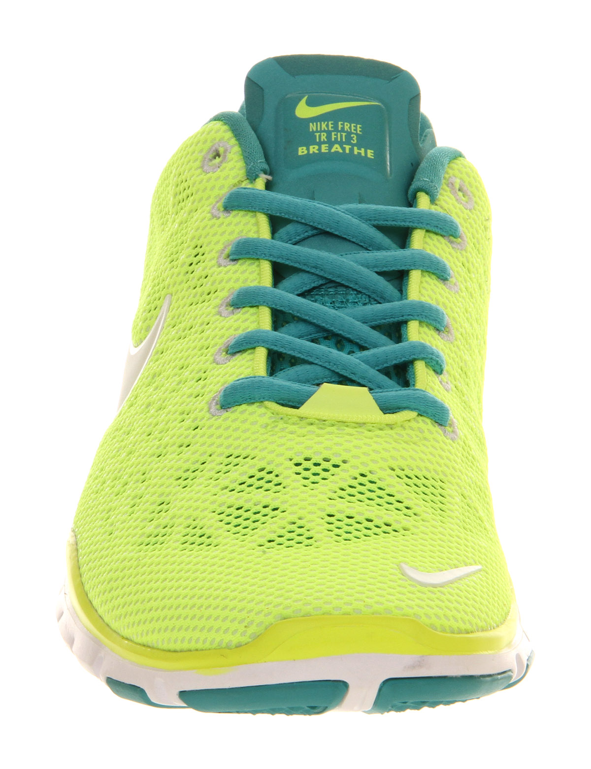 4c51e59600313 Lyst - Nike Free Tr Fit 3 Neon Yellow Volt White Hypercool in Yellow