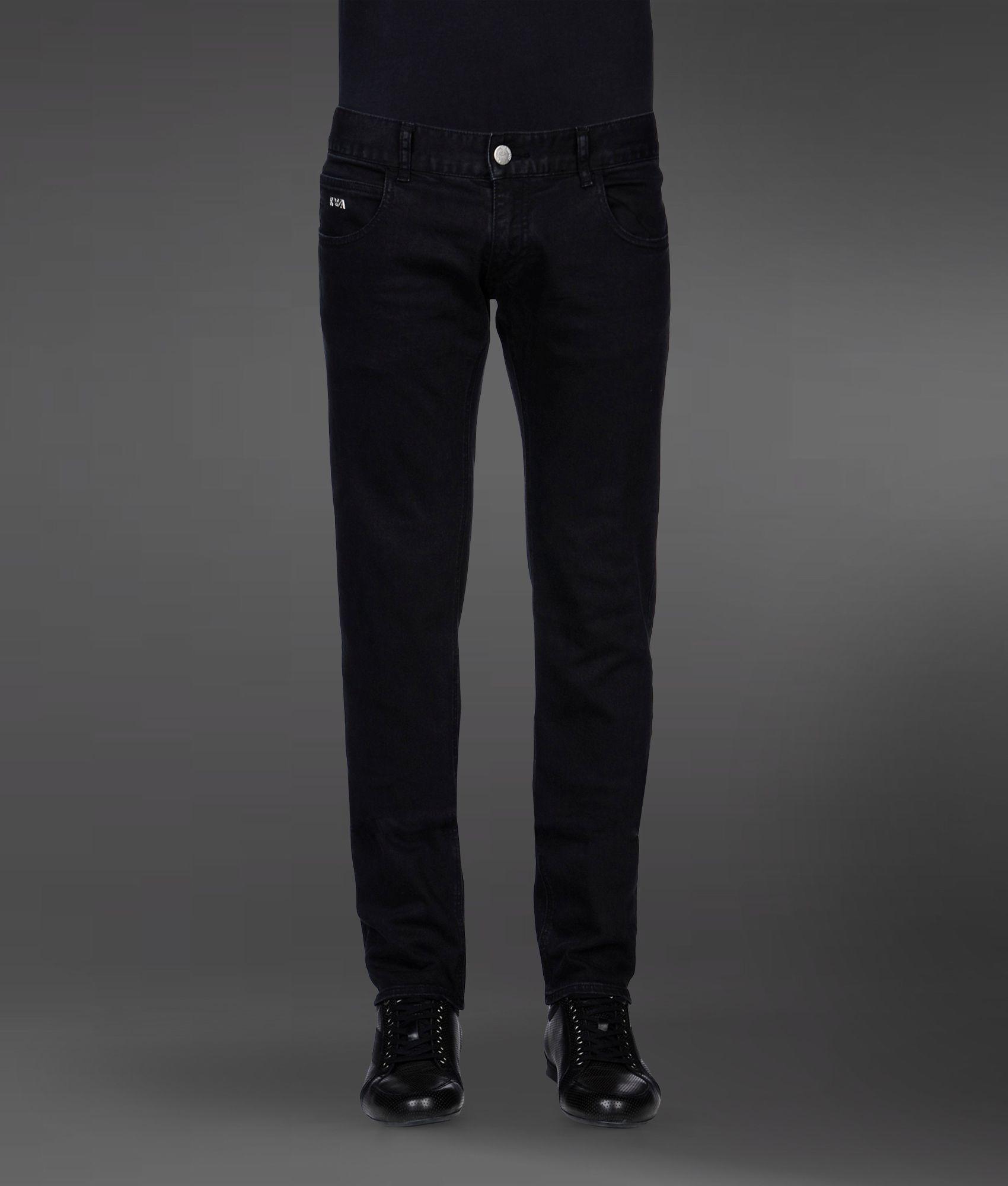 b68d02f6 Emporio Armani Jeans in Black for Men - Lyst