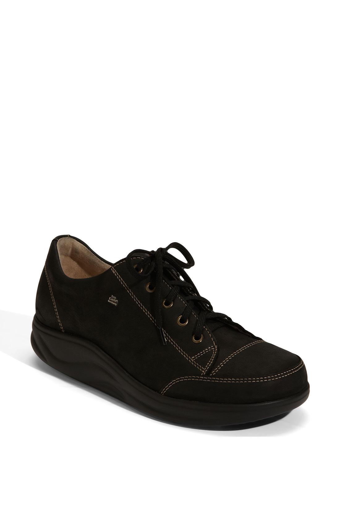 finn comfort finnamic by ikebukuro walking shoe in black