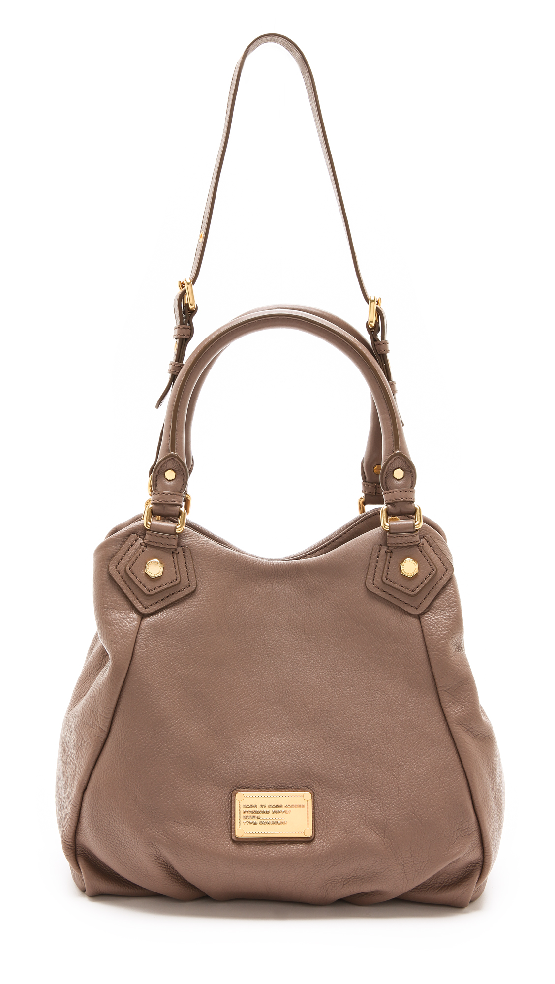 Marc by marc jacobs Classic Q Fran Bag in Natural