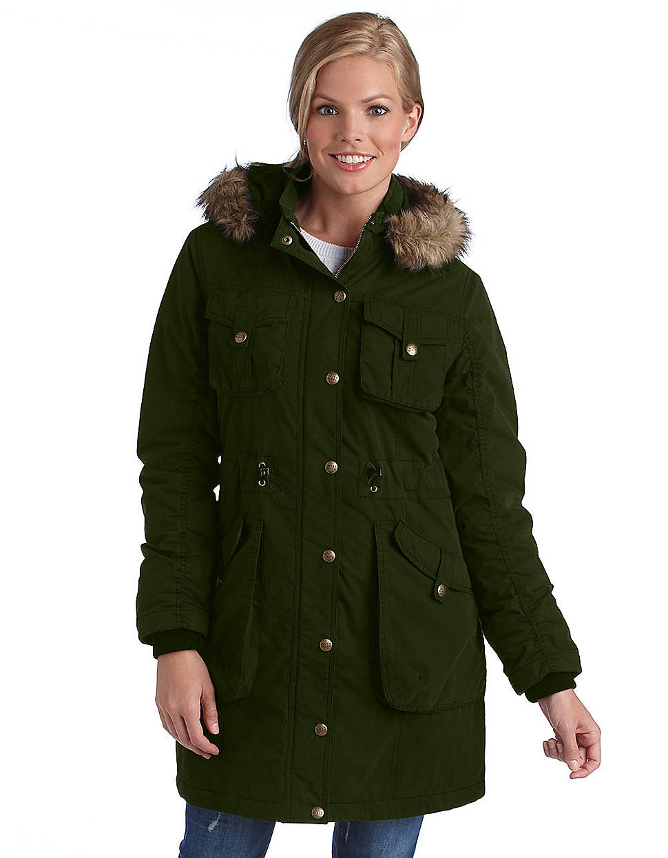 miss sixty hooded jacket in green lyst. Black Bedroom Furniture Sets. Home Design Ideas