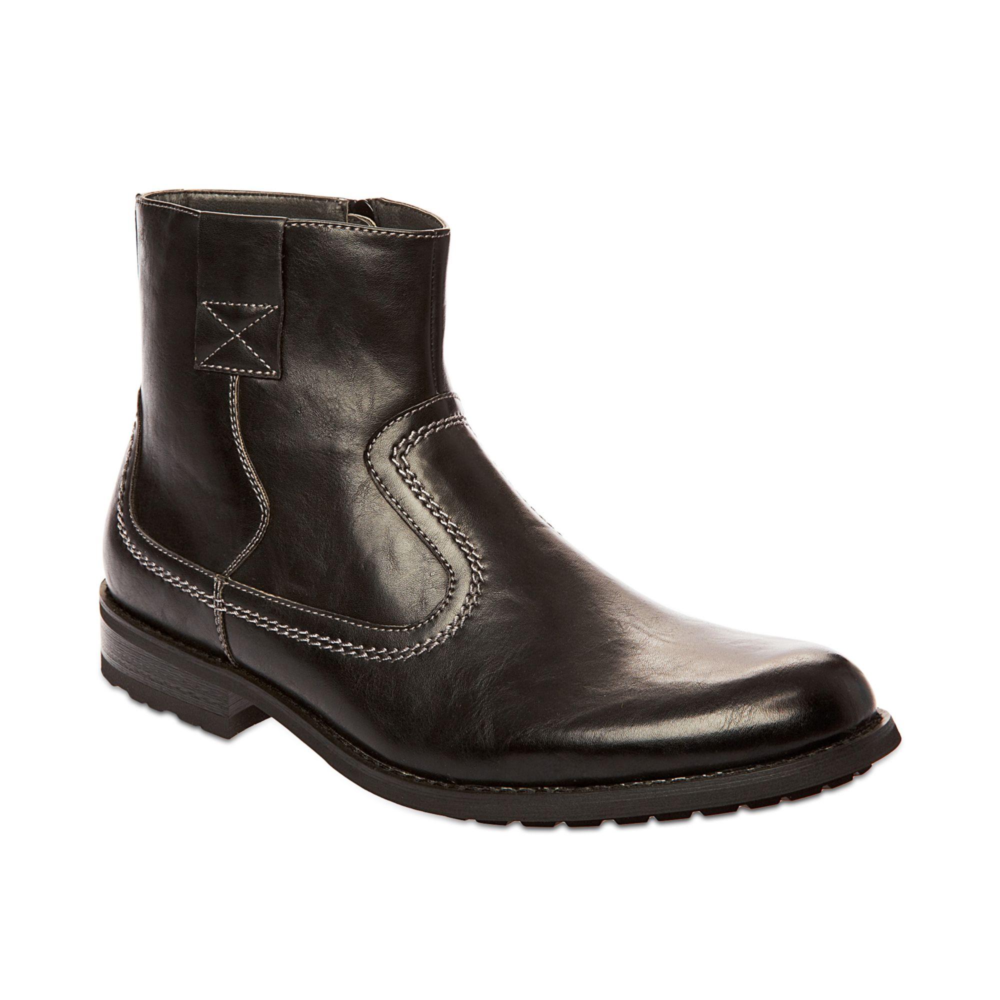 Steve Madden Madden Mens Shoes Solarr Boots in Black for ...
