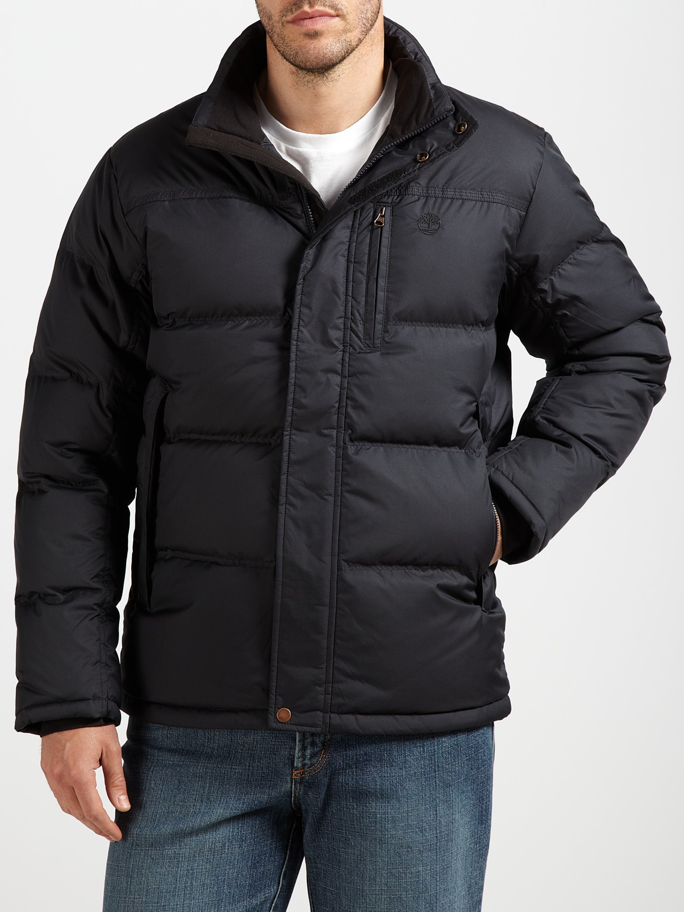 Timberland Synthetic Reedville Down Jacket In Black For