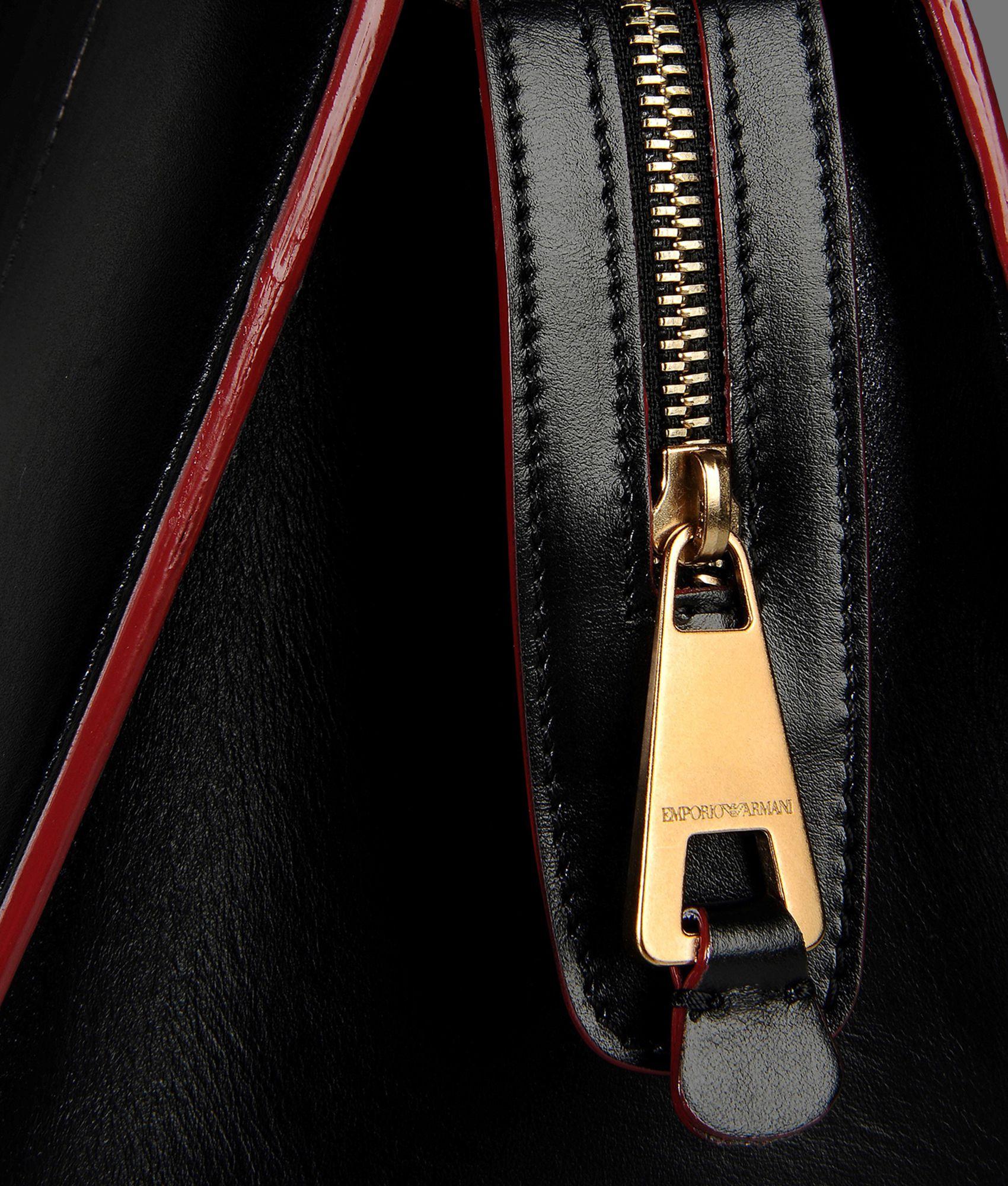 Sac A Main Armani Sport : Emporio armani sac ? main in black lyst