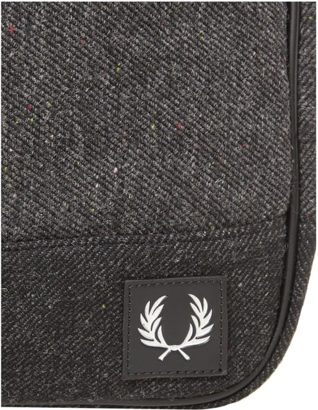 Fred Perry Wool Shoulder Bag 56
