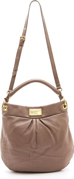 Marc By Marc Jacobs Classic Q Hillier Hobo in Brown (Root Beer)