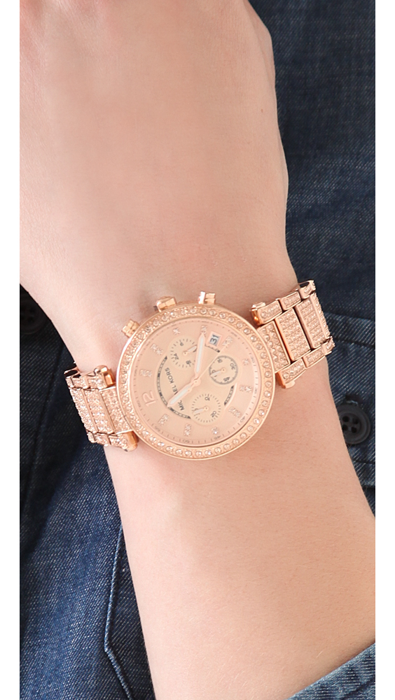 6d4de9bfc993 Gallery. Previously sold at  Shopbop · Women s Gold Watches Women s Michael  Kors Parker
