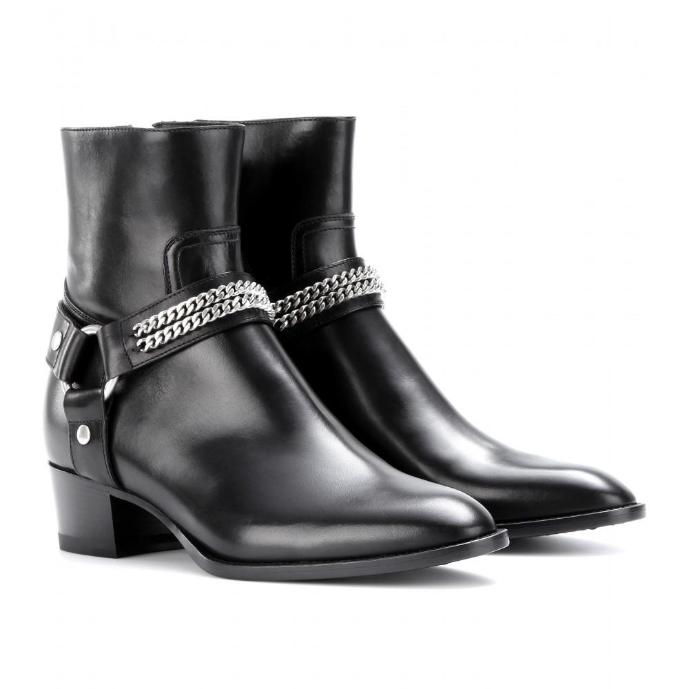 Saint Laurent classic ankle boots - Nero Buscando En Venta Tienda En Línea Barata 100% Garantizó El Precio Barato ZXf2LASg