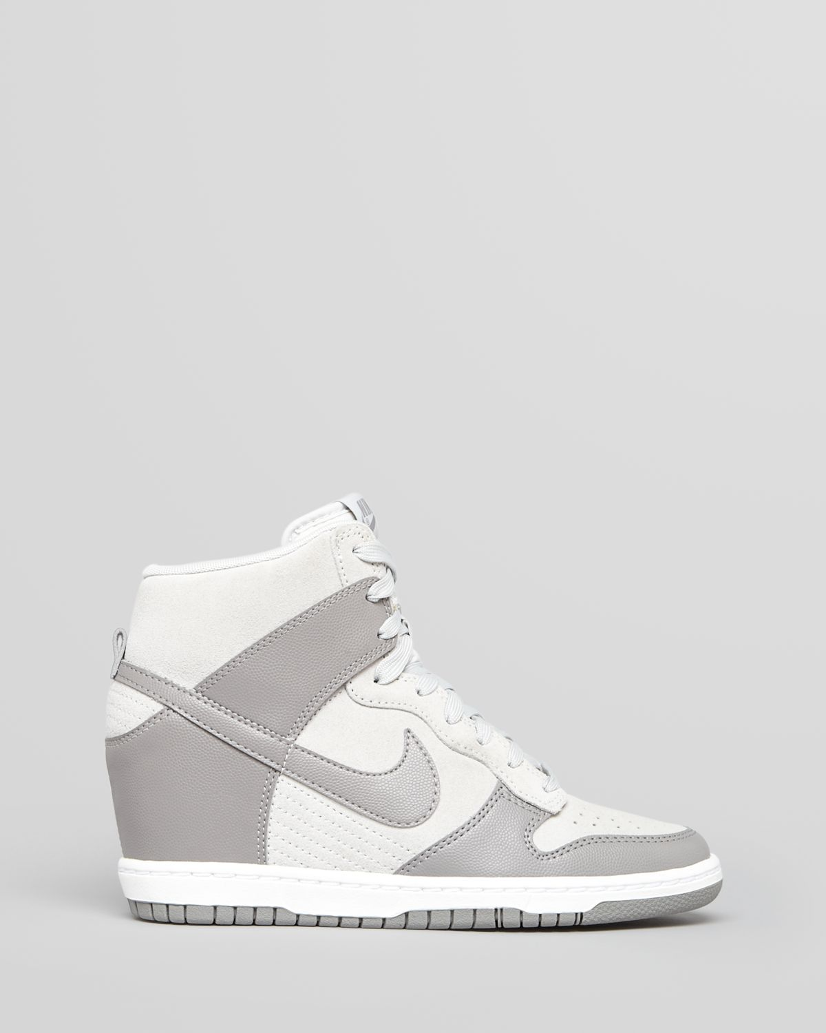 Lyst - Nike High Top Lace Up Sneakers Womens Dunk Sky Hi ...