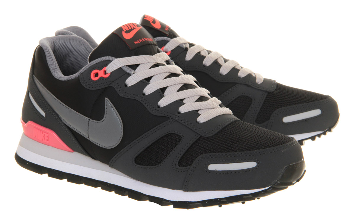 nike air waffle trainer in gray for men lyst. Black Bedroom Furniture Sets. Home Design Ideas