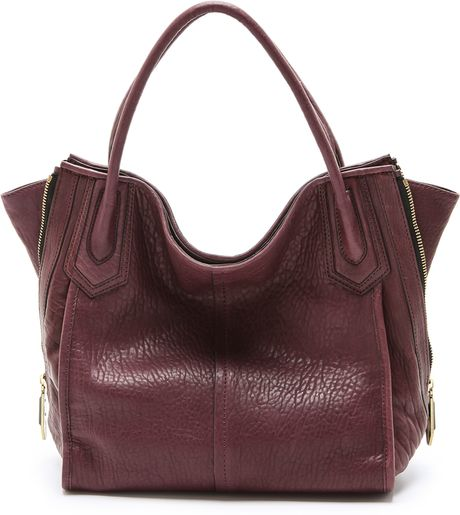Oryany Ruby Tote in Purple (Eggplant)
