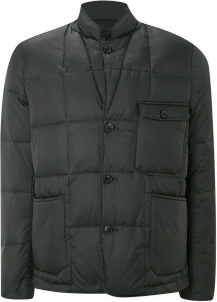Paul Smith Quilted Puffa Jacket in Green for Men