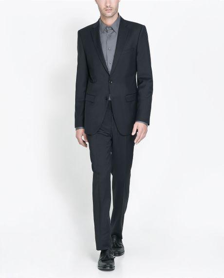 Suit Zara Navy Navy Zara Sale Actual Actual Sale UHHrFdq Suit rXOOqUpwx