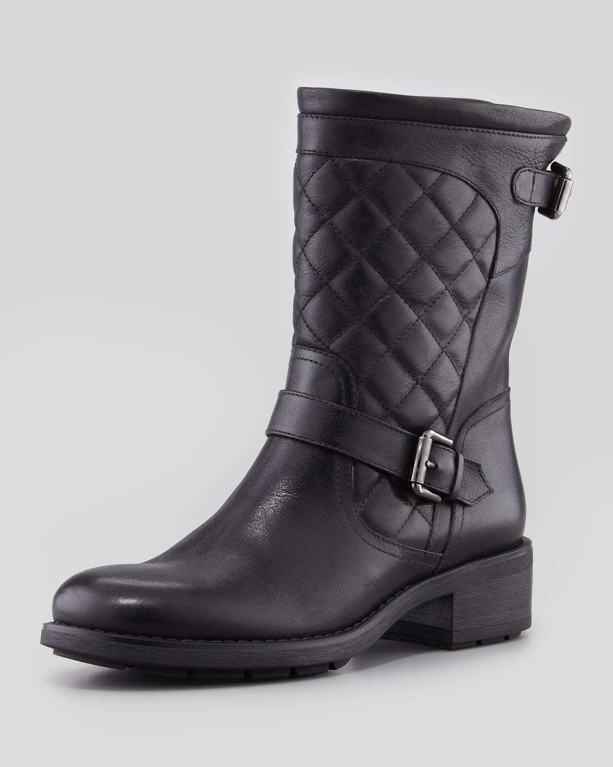 Aquatalia By Marvin K Sweetness Short Quilted Moto Boot ...