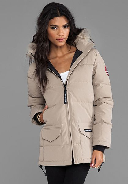 a2f96321f4c3 ... jacket a2db8 4461f  sweden montebello parka beige 63f4f promo code for  buy canada goose online montreal canada goose victoria