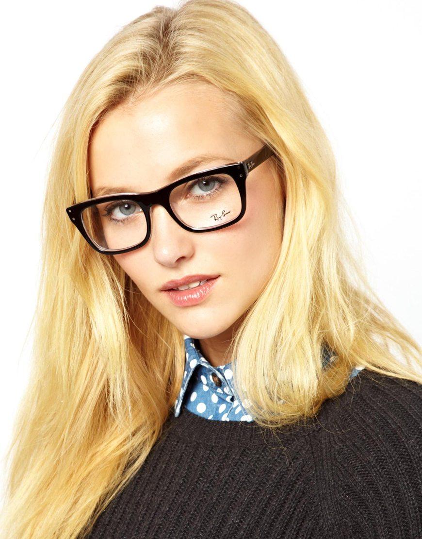womens ray ban wayfarer  Ray-ban Wayfarer Glasses in Black