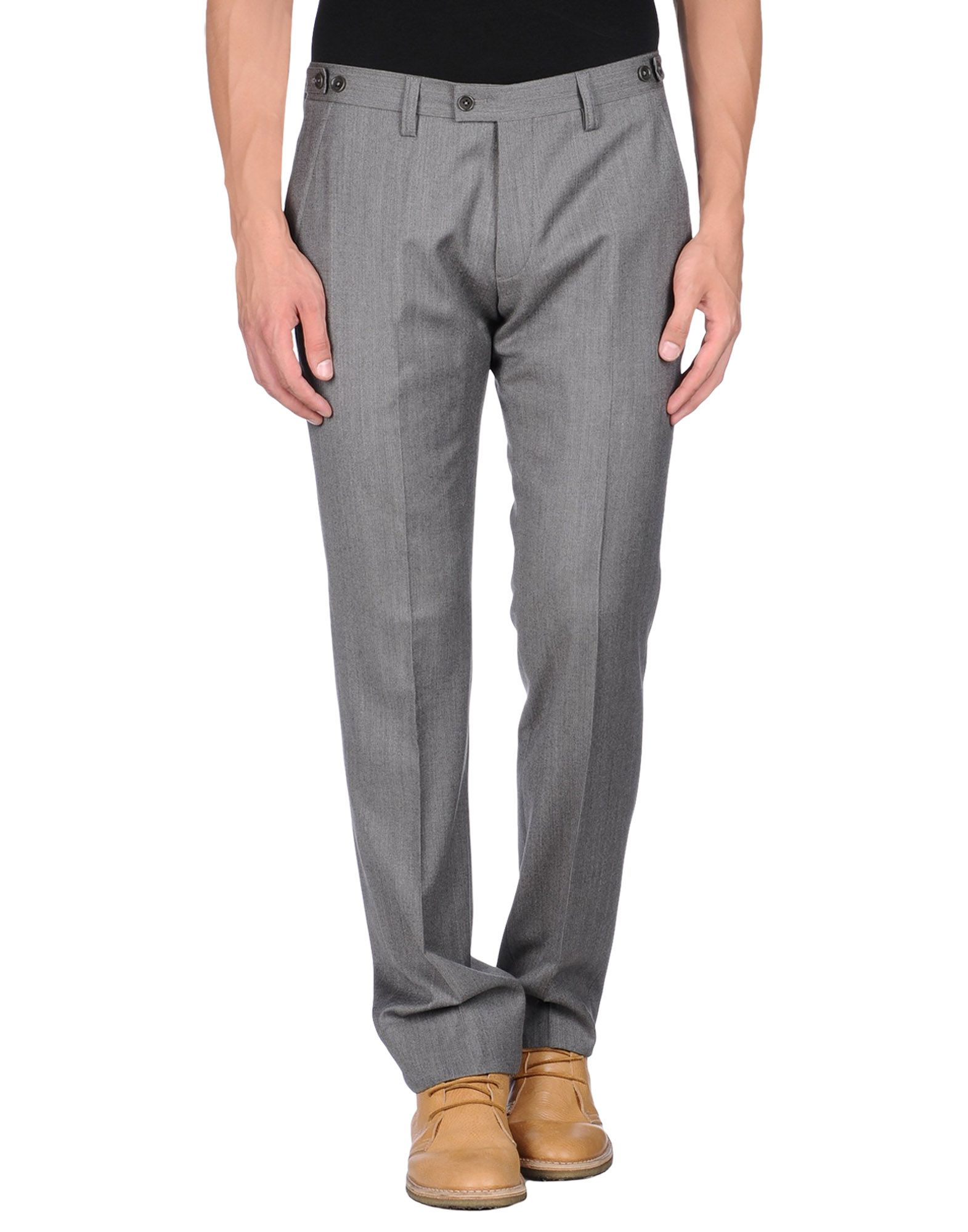 Amazing  Structured Linen Dress Pants In Gray For Men Lightgrey  Lyst