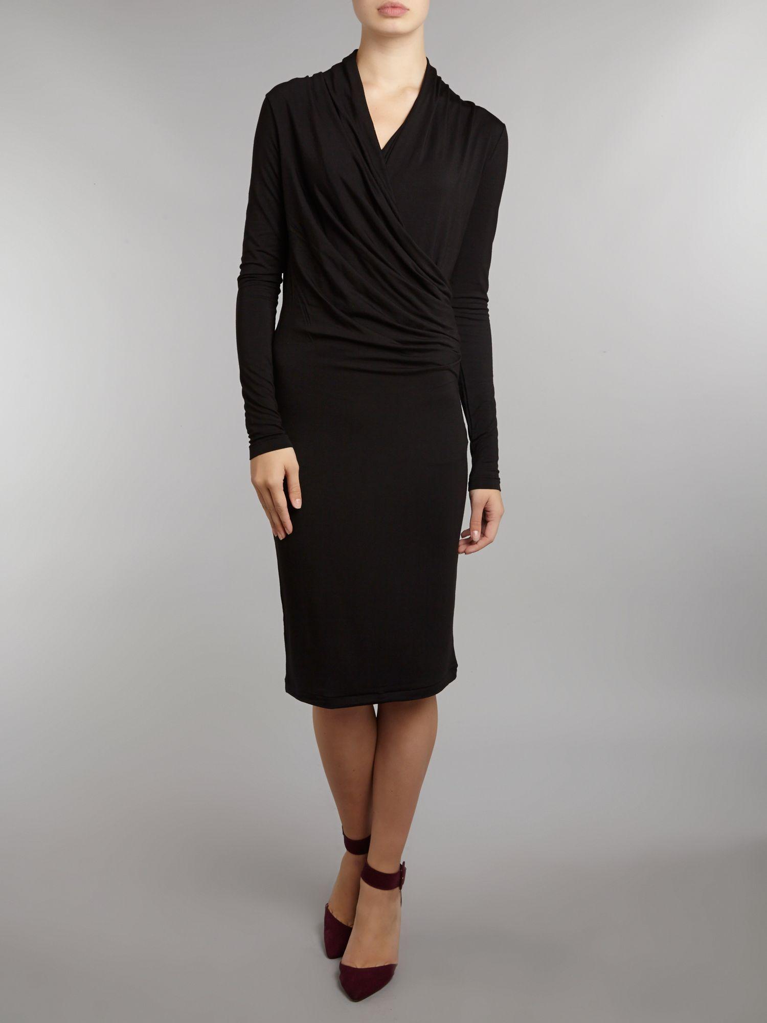day birger et mikkelsen day basic smooth dress in black lyst. Black Bedroom Furniture Sets. Home Design Ideas