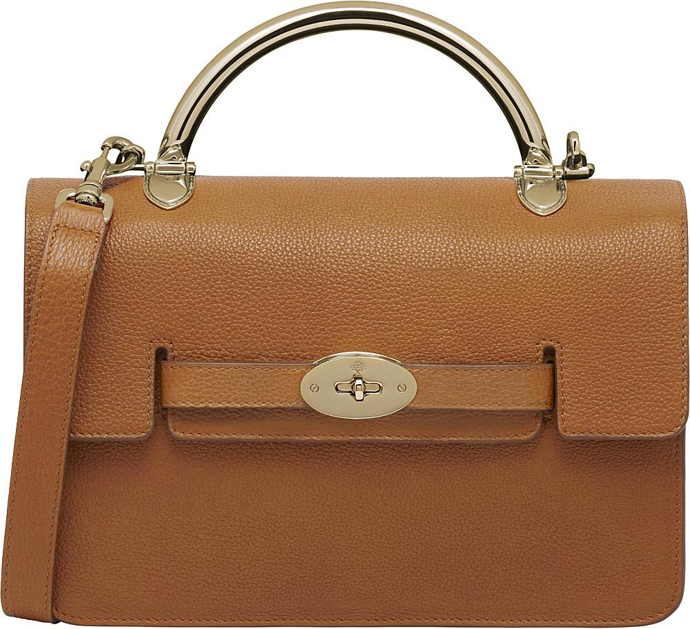 17582bd904 Mulberry Bayswater Grainy Print Shoulder Bag in Brown - Lyst
