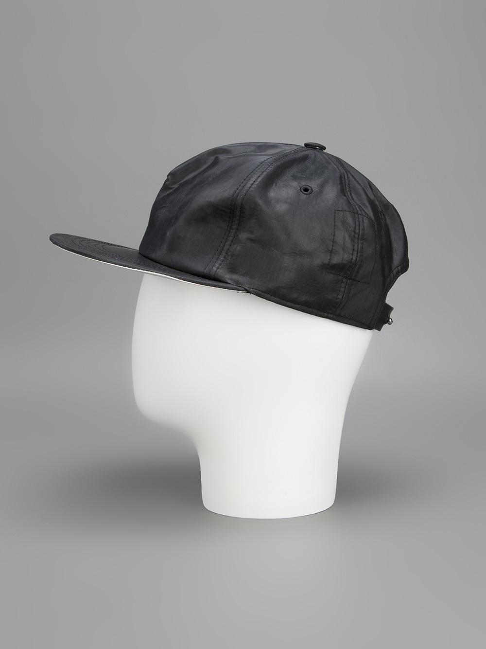 round shaped hat - Black Rick Owens TPdGndB