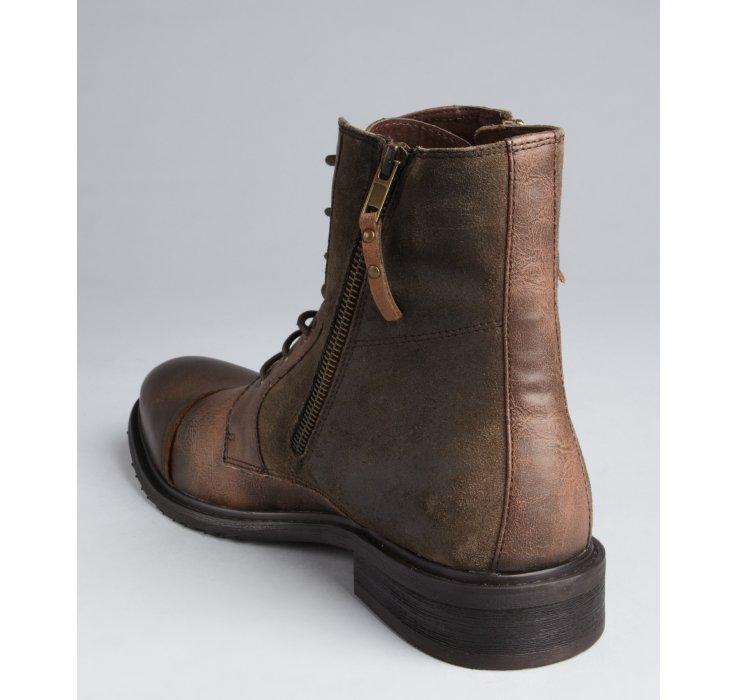 kenneth cole reaction shoes men suede cowboy boots