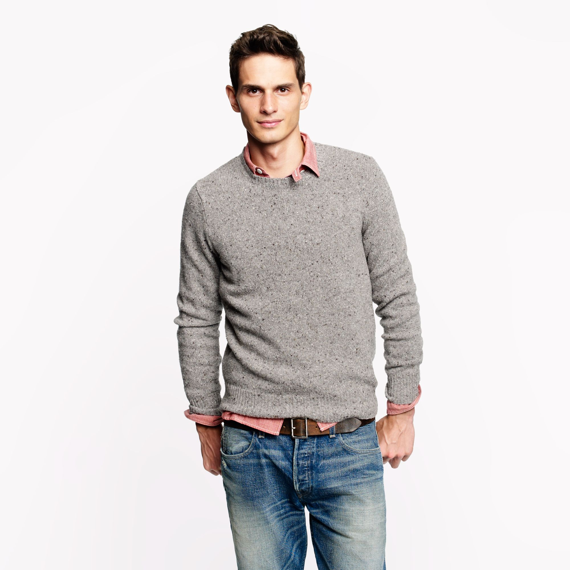 Embrace the intersection of comfort and style with the latest men's sweaters from Gap Factory, featuring classic cardigans and versatile pullovers in a diverse array of colors and sizes.