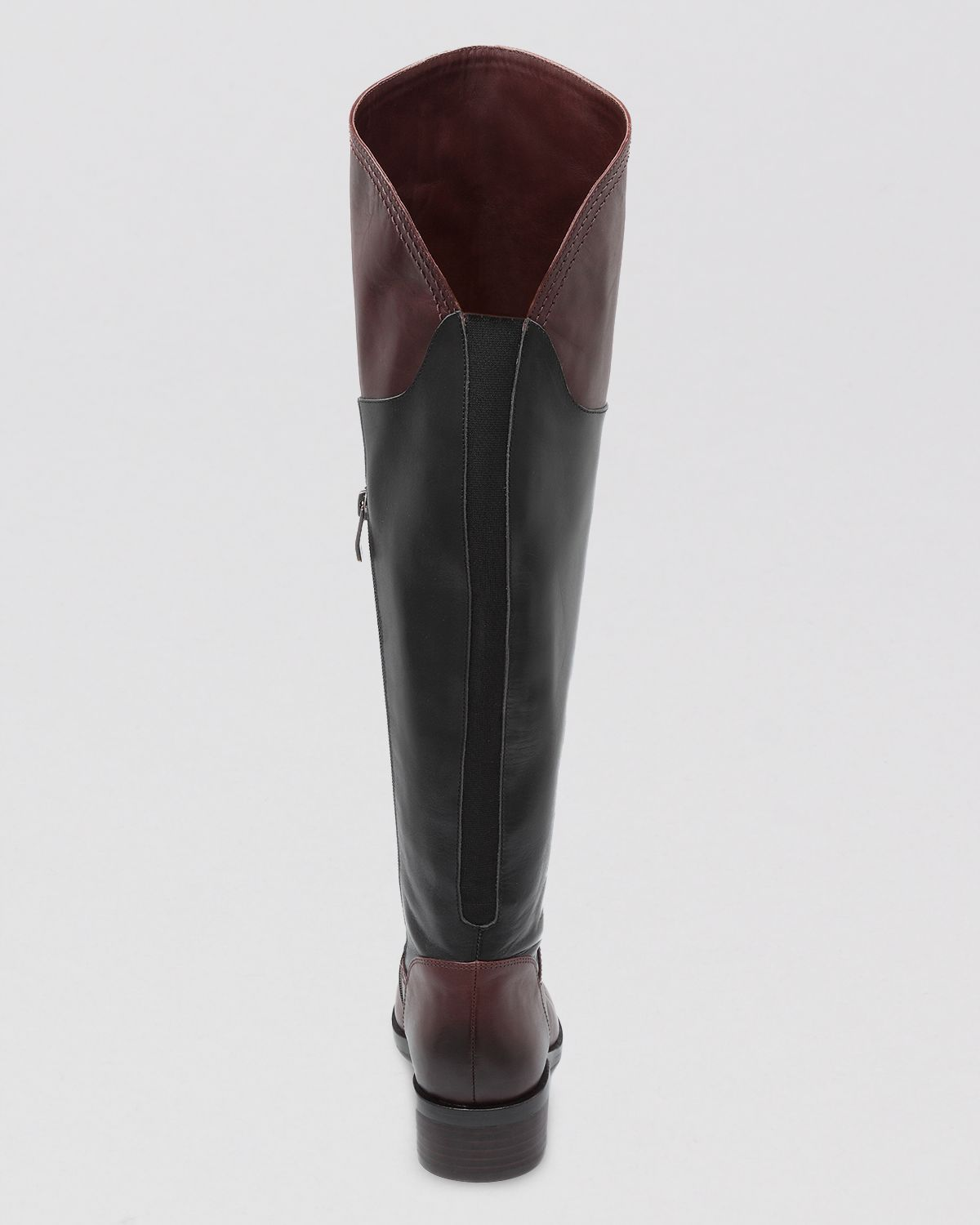 Vince camuto Over The Knee Riding Boots Vatero Two Tone in Brown ...