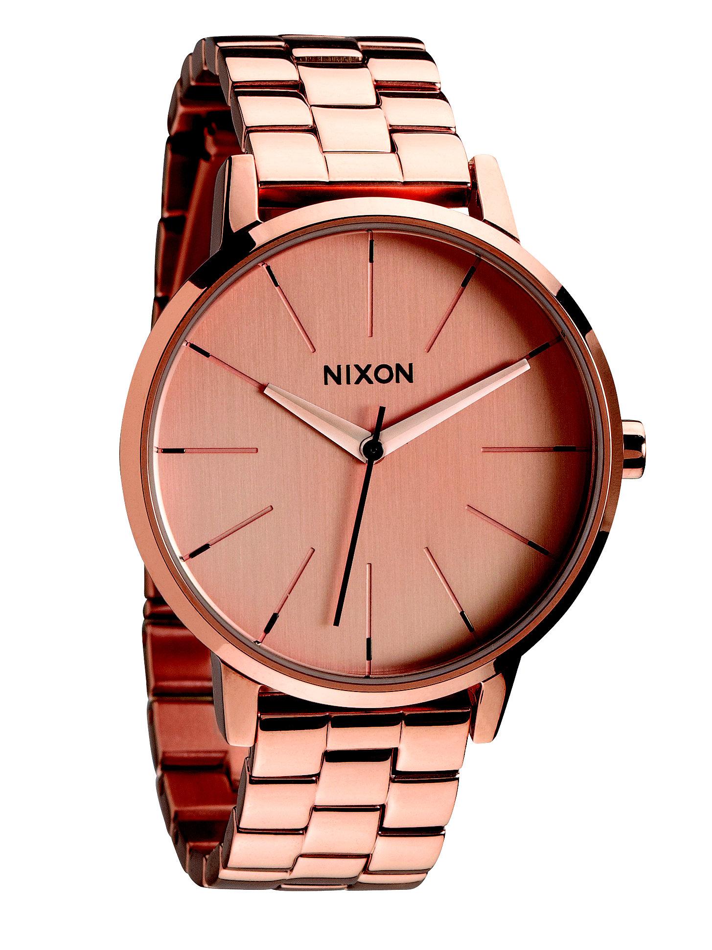 Nixon Kensington Rose Goldtone Stainless Steel Watch in ...