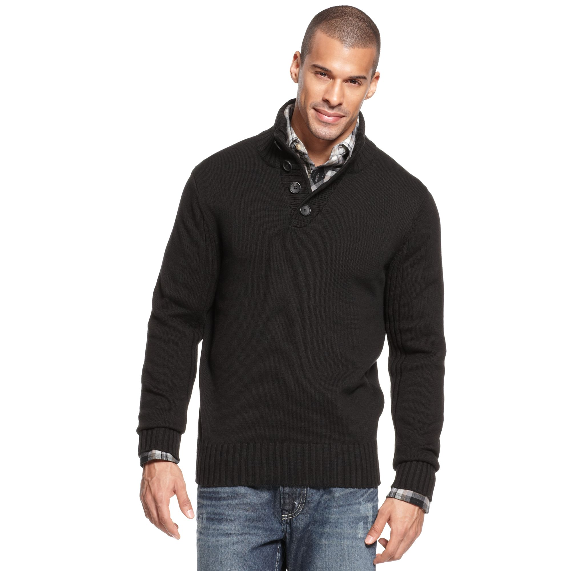 American Eagle Outfitters is the best place to find men's sweaters for every style, every season, every guy. Whether you're looking for sweaters to wear to work, the office, class, or just hanging out with your friends, we have casual cotton sweaters, men's cardigan sweaters, warm pullovers in festive Fair Isle knit prints, and more.