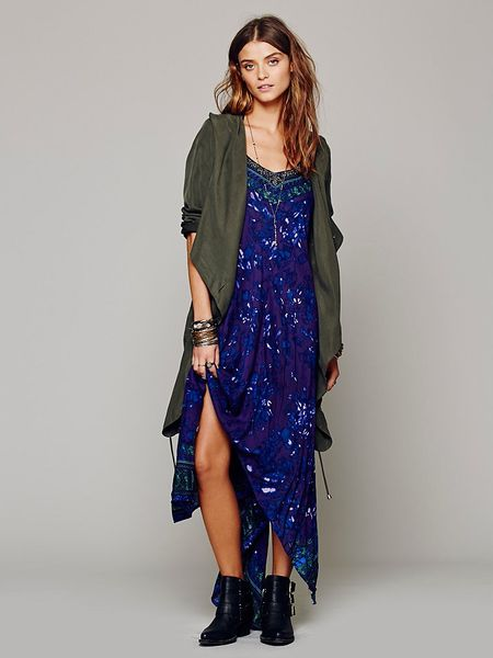Free People Wild Devine Dress In Purple Violet Lyst