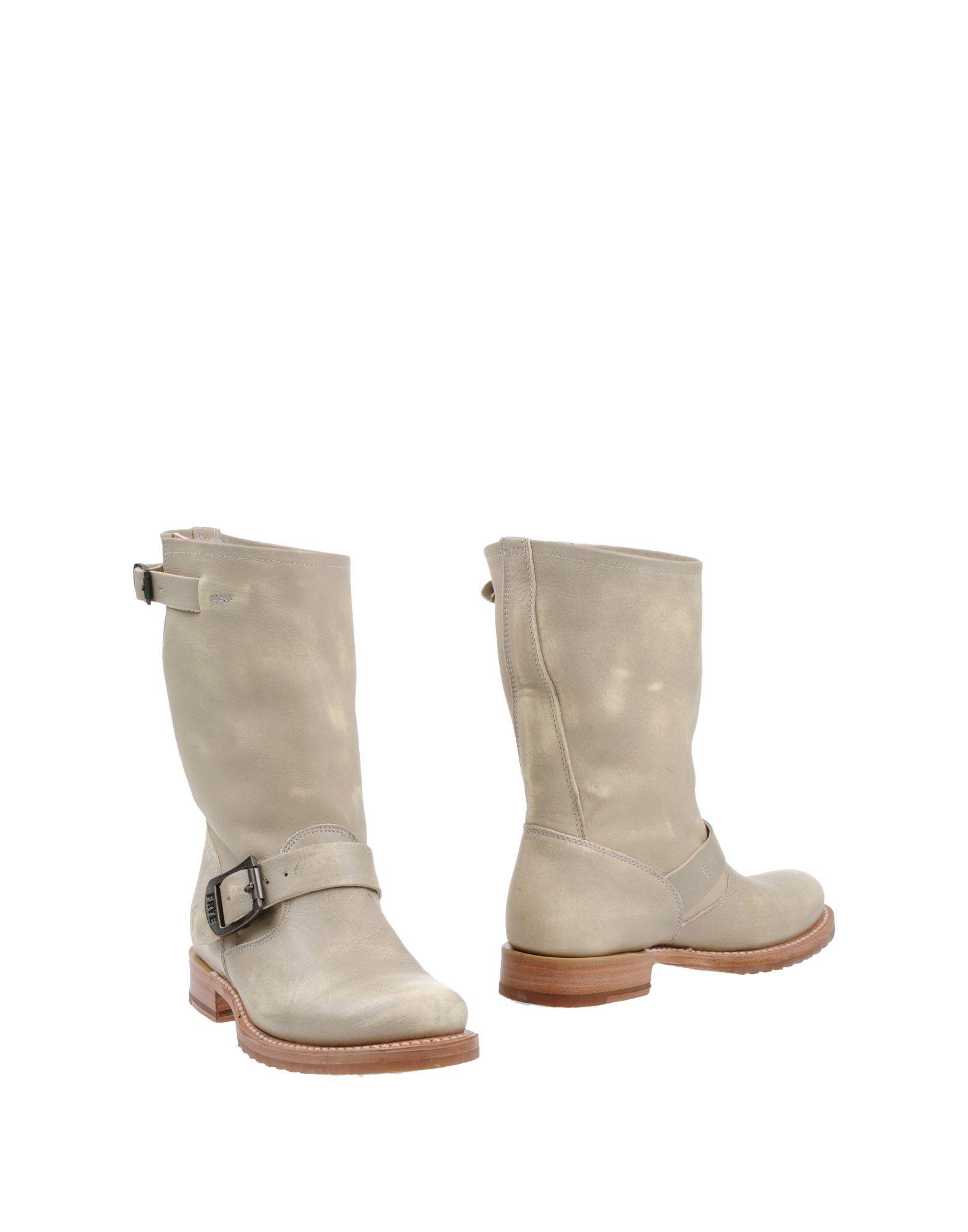 frye ankle boots in beige light grey lyst. Black Bedroom Furniture Sets. Home Design Ideas